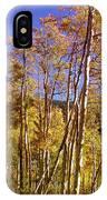 New Mexico Series - Autumn On The Mountain IPhone Case