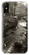 New Mexico Series - Late Winter Streambed IPhone Case