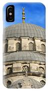 New Mosque Domes In Istanbul IPhone Case