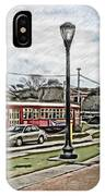 New Orleans Street Trolley IPhone Case