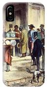 New Orleans: Voting, 1867 IPhone Case