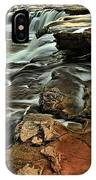 New River Waterfall IPhone Case
