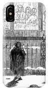New Years Eve, 1859 IPhone Case