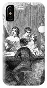 New Years Party, 1857 IPhone Case