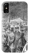 New York: Bandstand, 1869 IPhone Case