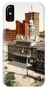 New York City Hall - 1900 IPhone Case