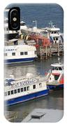 New York City Sightseeing Boats IPhone Case