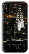New York City Skyline At Night IPhone Case