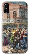 New York: Draft Riots 1863 IPhone Case
