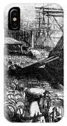 New York: Immigrants, 1854 IPhone Case