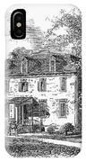 New York Mansion, 1748 IPhone Case