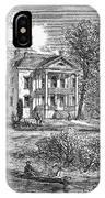 New York: Mansion, 1760 IPhone Case