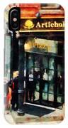 New York Pizzeria IPhone Case