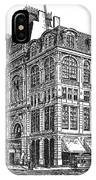 New York: Theater, 1869 IPhone Case