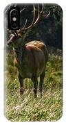 New Zealand Elk IPhone Case