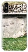 Newgrange Runes IPhone Case
