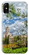 Newport Beach Temple Pine IPhone Case