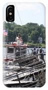 Newport Vermont Marina IPhone Case