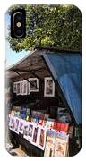 Newstand Along The Seine IPhone Case