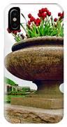 Niagara Falls Floral Urn IPhone Case