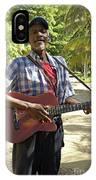 Nicaraguan Musician Big Corn Island Nicaragua IPhone Case