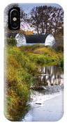 Nisqually Wildlife Refuge P21 The Twin Barns IPhone Case