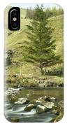 Northumberland, England A River Flowing IPhone Case