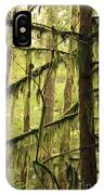 Northwest Mossy Tree IPhone Case