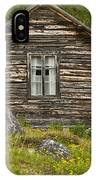 Norwegian Timber House IPhone Case