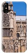 Notre Dame Cathedral Rose Window IPhone Case