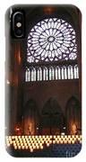 Notre Dame Votive Candles IPhone Case