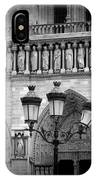 Notre Dame With Luminaires IPhone Case