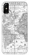Nova Totius Terrarum Orbis Geographica Ac Hydrographica Tabula IPhone Case