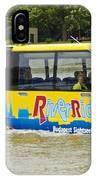 Novel River Boat IPhone Case