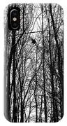 November Wood IPhone Case