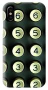 Numbers Game IPhone Case