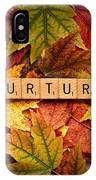 Nurture-autumn IPhone Case