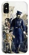 Ny Slum Children, 1864 IPhone Case