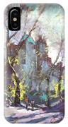 Nyc Central Park Controluce IPhone Case