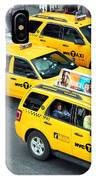 Nyc Yellow Cabs IPhone Case