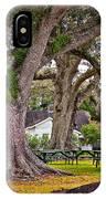Oak Alley Backyard IPhone Case