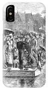 Ocean Grove Ferry, 1878 IPhone Case