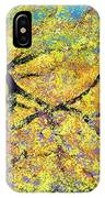 October Fall Foliage IPhone Case