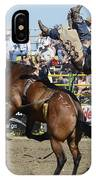 Rodeo Off In A Flash IPhone Case