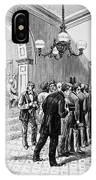Office-seekers, 1877 IPhone Case