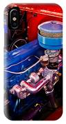 Oh So Simple Sanitary Truck Engine IPhone Case