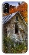 Old Abandoned House In Fall IPhone Case