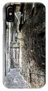 old alley in Italy IPhone Case