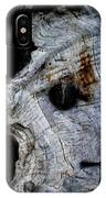 Old Ancient Olive Tree In Spain IPhone Case