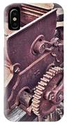 Old Apple Press 3 IPhone Case